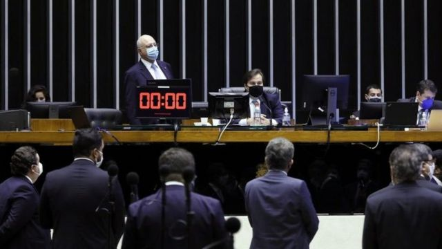 Votação virtual da Câmara dos Deputados
