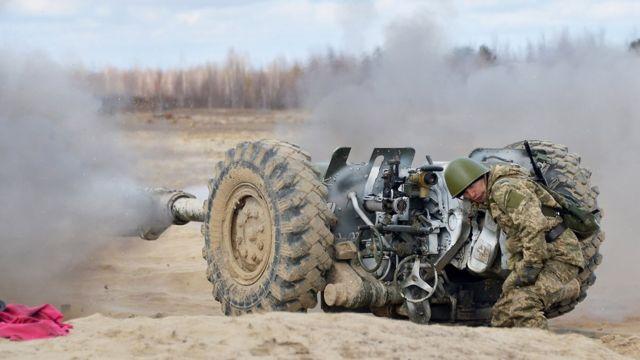 Украинская гаубица Д30