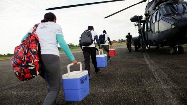 Frontera con Brasil de Colombia