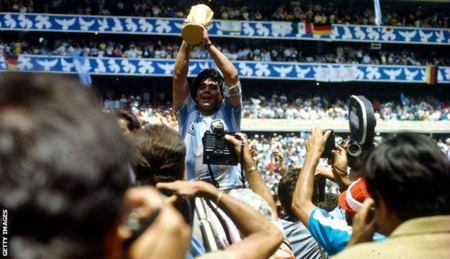 Diego Maradona iyo 1986