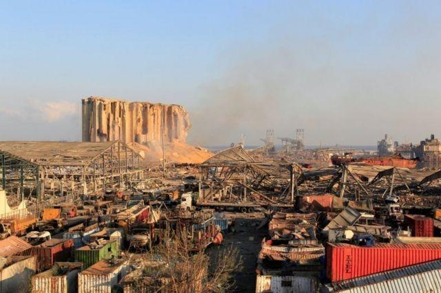 4 Ağustos'ta Beyrut'ta gerçekleşen patlamada 204 kişi hayatını kaybetti.