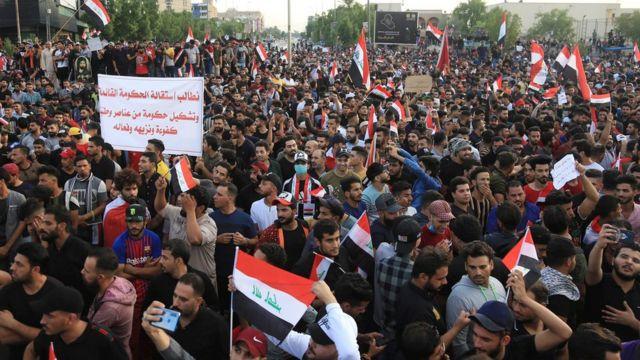 احتجاجات العراق تتزايد رغم وقوع مزيد من الضحايا