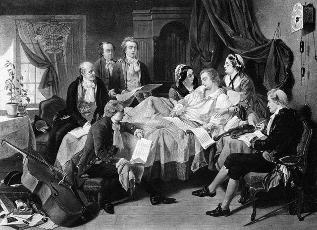 Смерть Моцарта