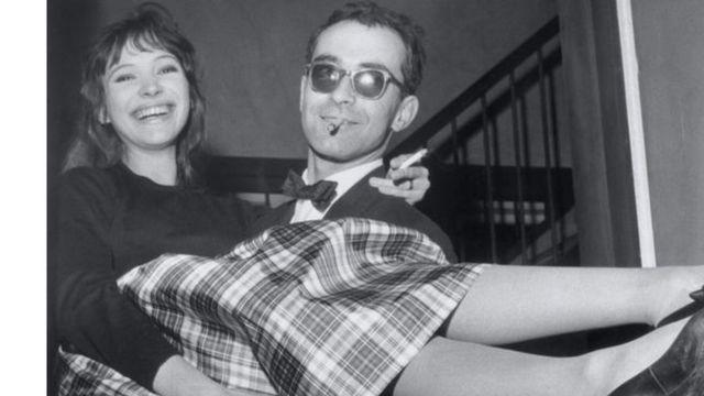 آنا كارينا وجان لوك غودار