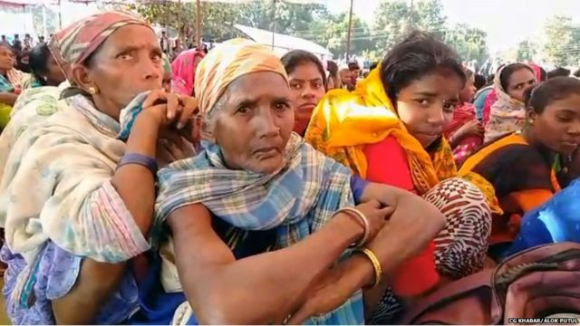 Adivasis stand by their demands