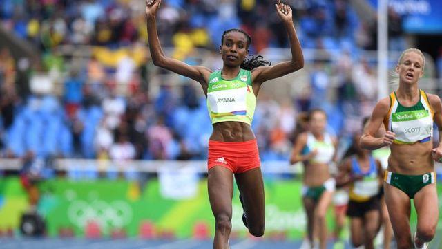 L'Ethiopienne Almaz Ayana, record du monde du 10 000