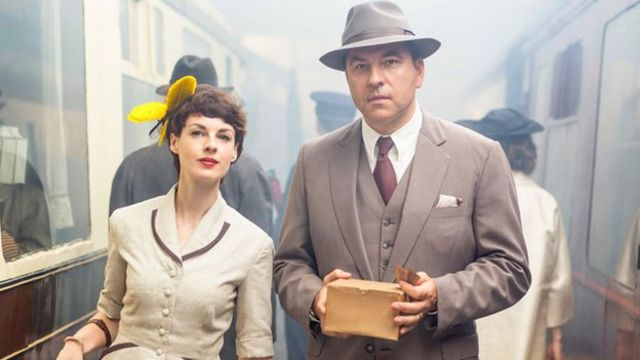 David Walliams on playing 'damsel in distress' in Agatha Christie drama