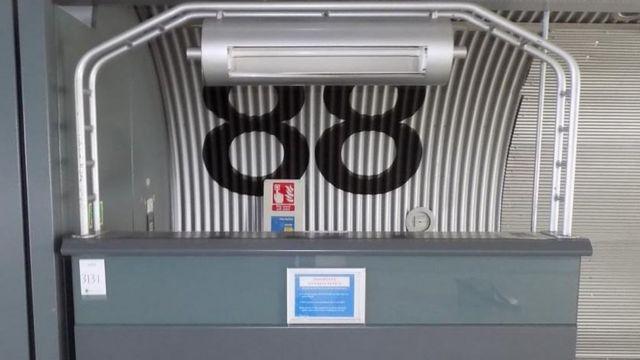 15개의 에스컬레이터, 체크인 책상 110개, 2천 개의 보안 카메라가 팔린다