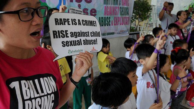 Campaña en contra de la ley de violación estatutaria.
