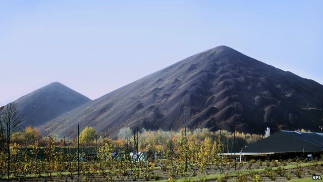 coal slag heaps