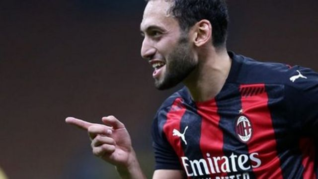 What a performance! Calhanoglu stars for Milan