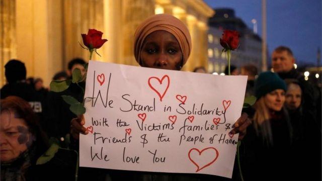 vigil in Berlin