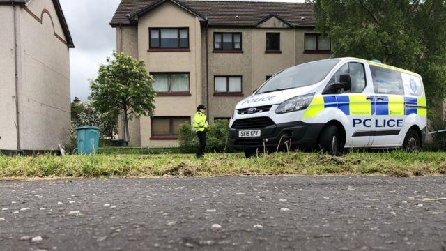 Man arrested after disturbance death in Lanarkshire