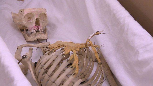 arthur in a casket