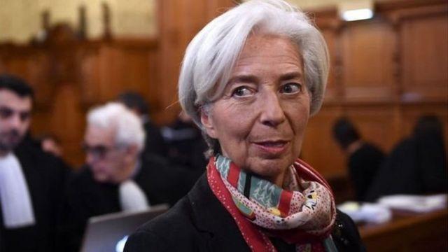 Shugabar Hukumar Lamuni ta Duniya Christine Lagarde