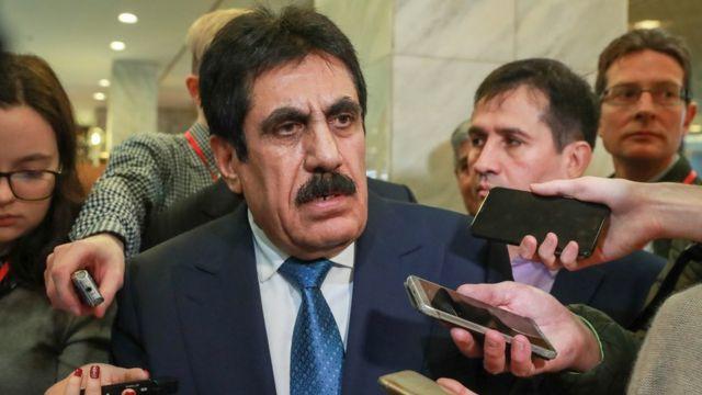 Руководитель афганской диаспоры в России Гулам Мохаммад Джалал
