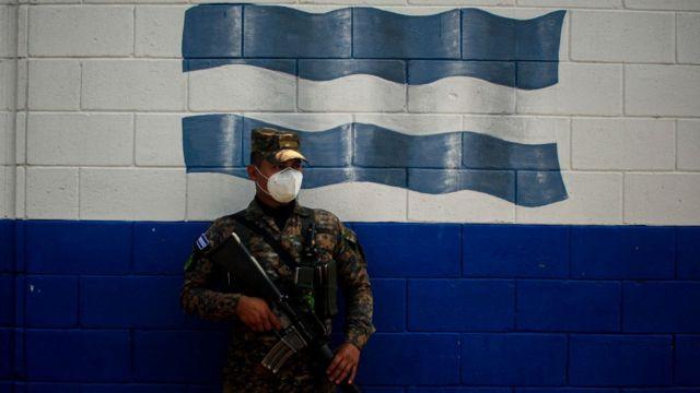 Militar salvadoreño