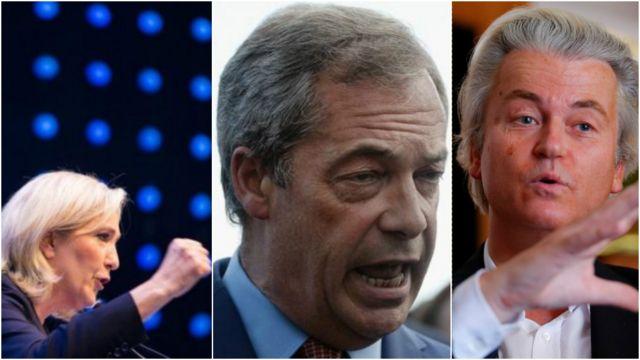 Martine Le Pen/Nigel Farage/Gert Wilders
