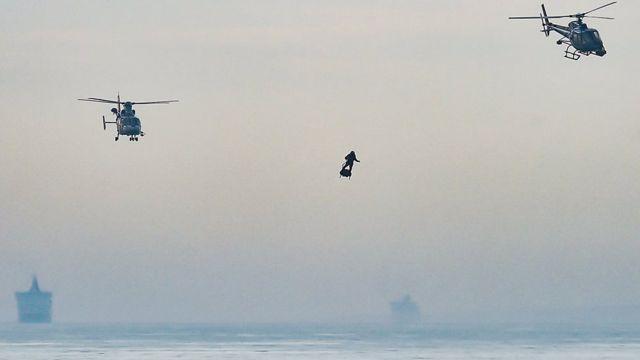 Orang yang menerbangkan Piring Terbang 35,4 km adalah ilmu yang memungkinkannya