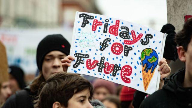 Estudantes protestam em Munique