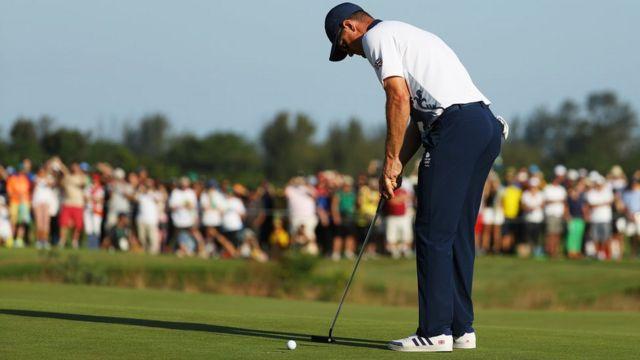 Golfe na Olimpíada do Rio