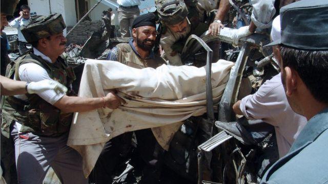 अफ़ग़ानिस्तान में भारतीय दूतावास पर हमला