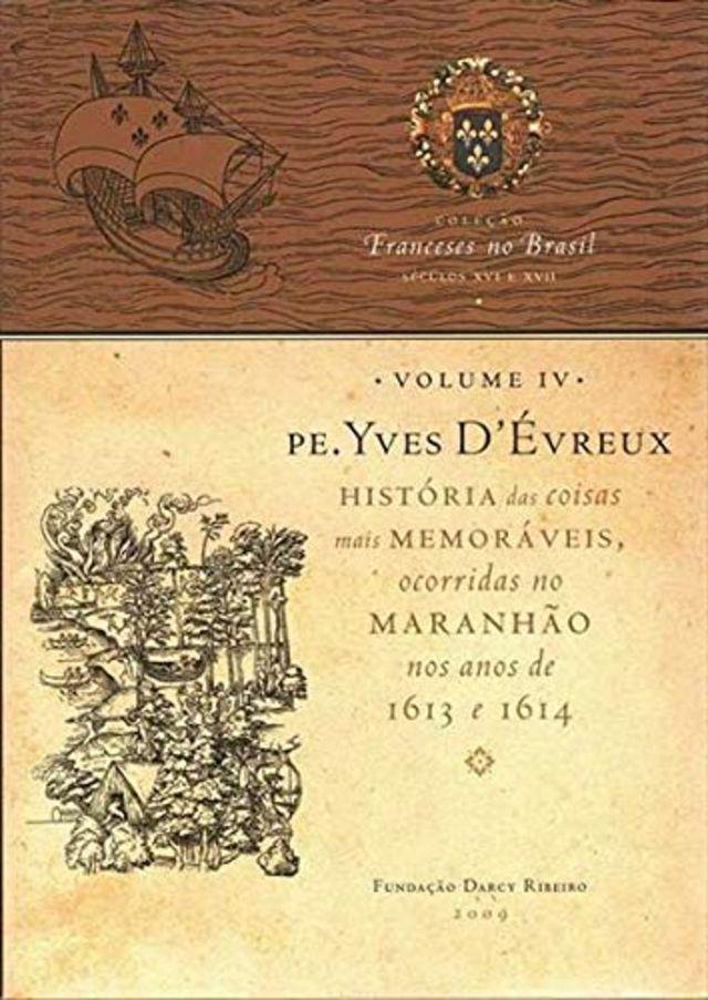Capa do livro de Yves d'Évreux