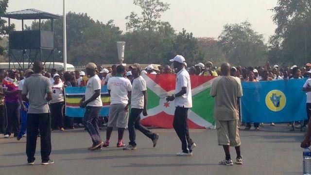Imyiyerekano yabereye mu gisagara ca Bujumbura