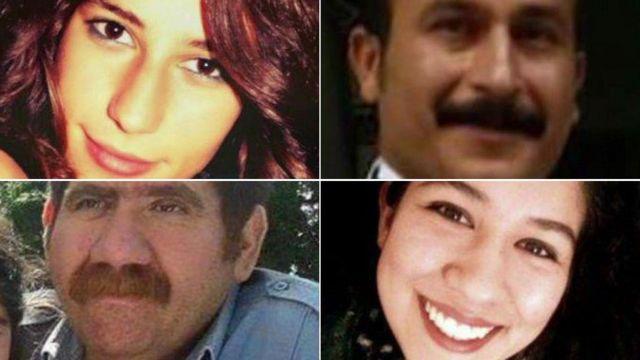 Victims of the Ankara bomb attacks