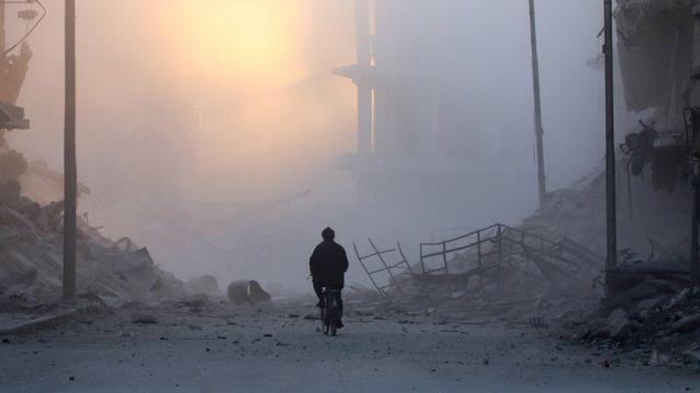 مئات الآلاف يعانون من خطر المجاعة في حلب