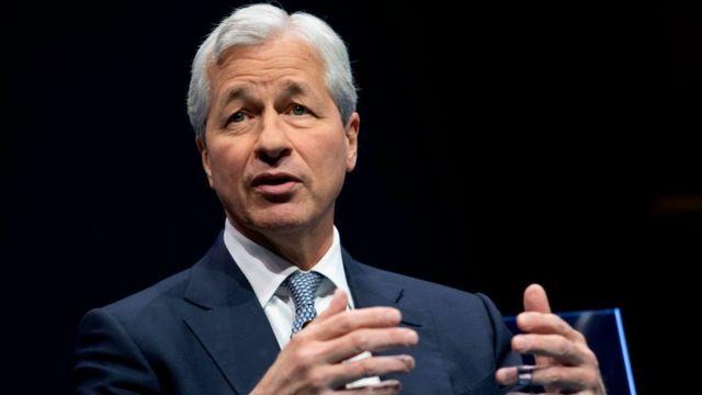 Jamie Dimon, presidente ejecutivo del banco JP Morgan Chase y jefe de la organización Business Roundatable.