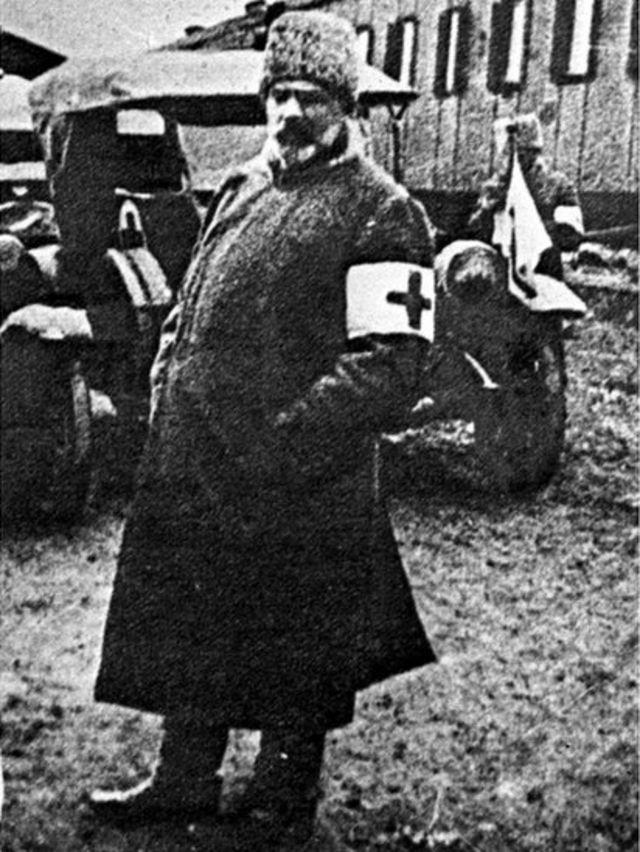 Российский политический деятель Александр Гучков