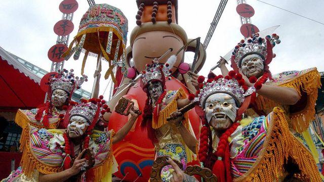 台北的媽祖節通常能吸引數十萬人參加。