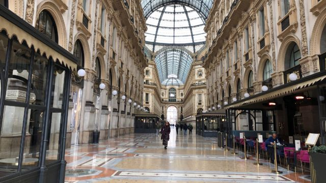 Галерея Виктора Эммануила II, Милан