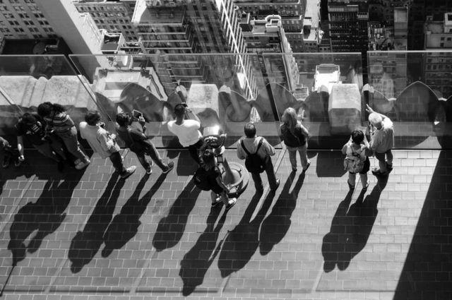En el último piso del Rockefeller Center