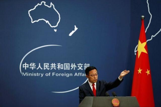 Çin Dışişleri Bakanlığı Sözcüsü Zhao Lijian