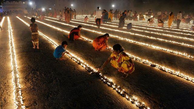 ভারতে দিওয়ালি উৎসব