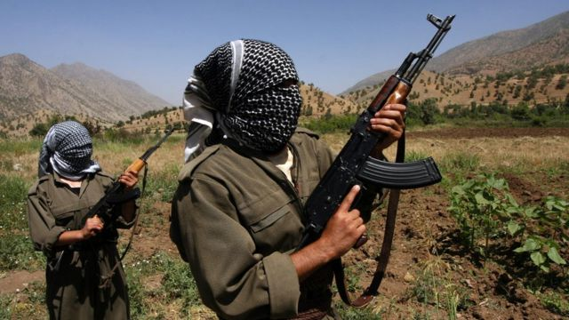 Abarwanyi ba PKK mu mwaka w'2007