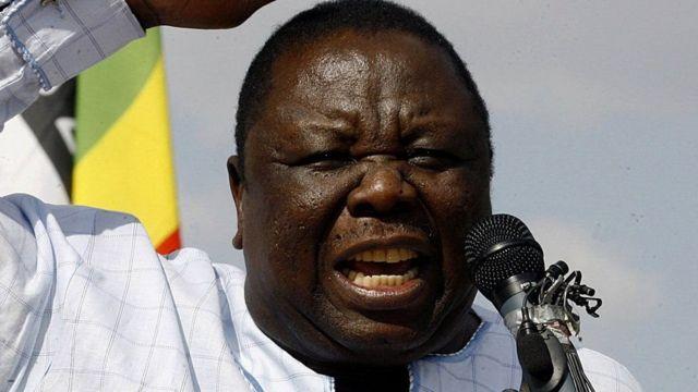 Hogaamiyihi xisbiga ugu weyn mucaaradka waddanka Zimbabwe, Morgan Tsvangirai.
