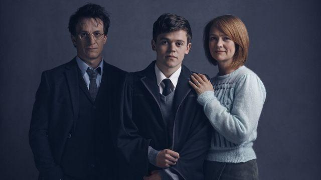 Jamie Parker, Sam Clemmett and Poppy Miller