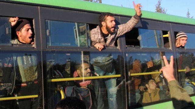 Evakuasi Aleppo