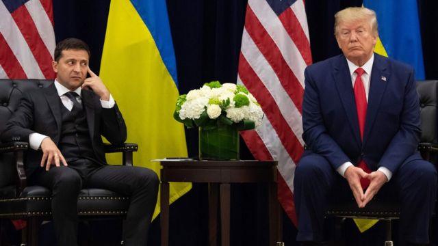 Трамп встречает Зеленского
