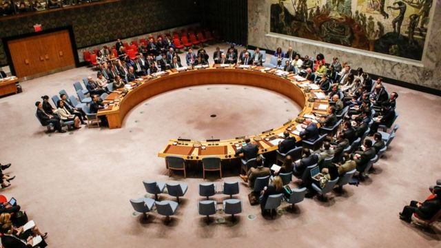 संयुक्त राष्ट्र सुरक्षा परिषद की बैठक