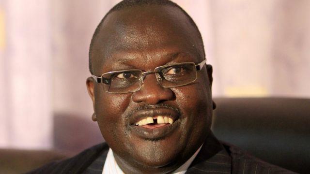 An yi arangama tsakanin masu tsaron lafiyar Mista Machar da masu tsaron fadar shugaba Salva Kiir