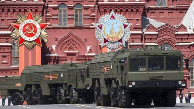 Iskander en Moscú.