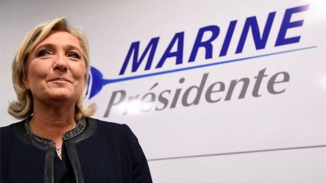 طلب قضائي برفع الحصانة البرلمانية عن ماري لوبان مرشحة اليمين للانتخابات الرئاسية الفرنسية