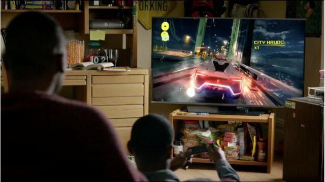 アップルTVの新モデルでは、リモコンを使ってビデオゲームをすることができる
