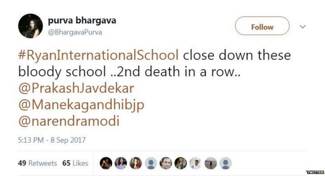 रायन इंटरनेशनल स्कूल, गुरुग्राम, छात्र की मौत, हत्या