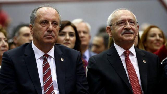 İnce ve Kılıçdaroğlu