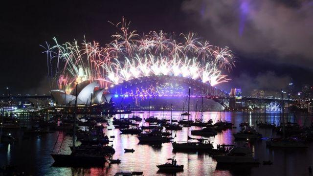 सिडनी में नया साल